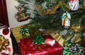 Hacer un sistema de riego oculto árbol de Navidad