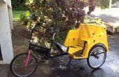 Actualizaciones de eje de 1 pulgada de pedicabs usando piezas de karts