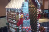 Casa de pan de jengibre de Navidad de Santa!