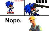 Sonic.Exe (y otros) Tebeos de la