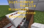 SIMPLE elevador de Redstone (1 historia) - vainilla Minecraft PC (todos redstone-actualización + compatible)