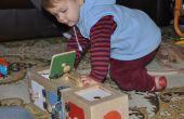 Caja de puerta - juguetes para niños
