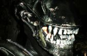Traje guerrero de los extraterrestres de Alien