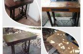 Renovación de la mesa de costura
