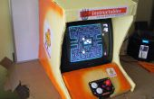 Tapa cartón barra consola Arcade - máquina de entretenimiento reciclado de justicia lluvia litio