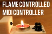 Controlador MIDI controlado de la llama