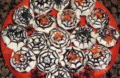 CUPCAKES de HALLOWEEN fácil araña