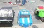 Transformación de motocicletas Batmobiles y Robin