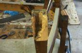 Cómo reparar una silla rota de pie
