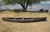 Canoa de la tira de carbono