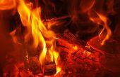 Calefacción con fuego