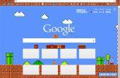 Hacer un personalizada Google Chrome tema de Mario Brothers