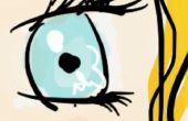 Cómo dibujar ojos de Anime