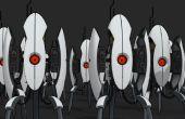 Escala completa apertura torreta de Portal 2