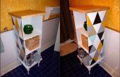 Gabinete de funky de artículos reciclados/encontrado