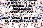 Energía la mayoría del mundo objeto volador de ahorro