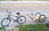 Hacer un remolque de bicicleta para menos de $10!