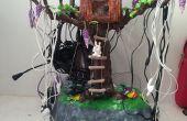 Porcelana fría arcilla electrónica soporte árbol