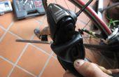 Cómo destruir completamente un cambio Shimano 105 STI 5600 cubierta de vuelo izquierda