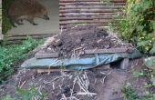 Hedgehog plataforma casa (posiblemente combinar con su Compost)