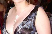 Impresionante vestido de noche con estampado oriental Blackless