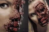 Accidente automovilístico / Zombie - Tutorial de maquillaje SFX