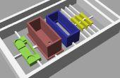 """Hacer modelos 3D plástico de diseños CAD con un automatizado """"fresadora"""""""