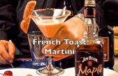 Toast de francés deliciosos Martini