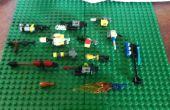 Colección de armas de Lego Mini impresionante