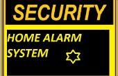 Inicio alarmas de seguridad