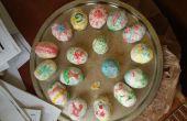 Huevos de Pascua ucranianos comestibles