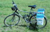 Hacer maletas de bici 4 galones cubo cuadrado por menos de $20