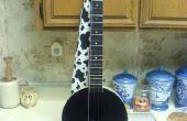Hacer un Dulcitar de una guitarra barata sin costo