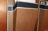 Budweiser caja cartón montado correo soporte de pared