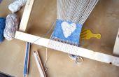 Hacer un telar de bastidor para tejer