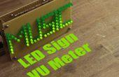 Hacer tu propio cartel de LED VU Meter