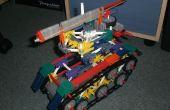 Tanque de guerra blindado de KVG.