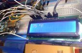 Arduino LCD termómetro