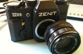 Antiguo lente, nueva cámara