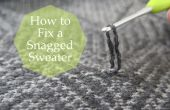 Cómo solucionar un estancamiento suéter