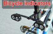 Indicadores de bicicletas bricolaje batería de larga vida