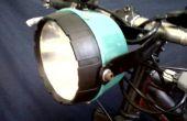 Bajo costo 24 Led bicicleta luz proyecto