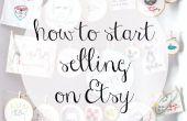 Cómo empezar a vender en Etsy