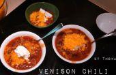 Chili de carne de venado en menos de 30 minutos!