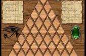 Juego matemático de pirámide del Faraón