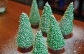 Cómo hacer árbol de Navidad Cupcakes