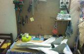 Montaje en pared mesa de trabajo