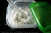 Hacer tu propio polvo de hornear (sin gluten).