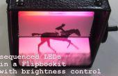 LED Flipbookit: completo control de color y brillo con un Arduino