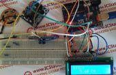 Sistema de alarma de voz ultrasónica de la distancia pantalla ISD1820 con Arduino